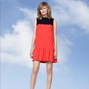 NWT Victoria Beckham for Target Scallops dress